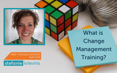 What is Change Management Training?